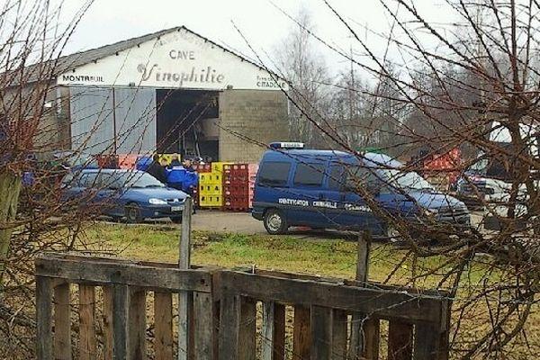 Le corps a été retrouvé devant un hangar de la brasserie Vigneron à Montreuil-sur-mer.