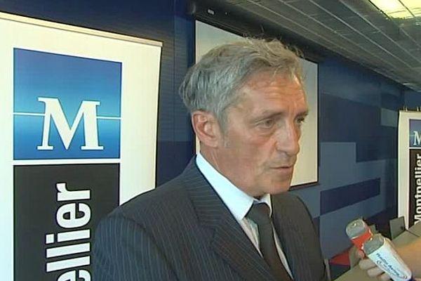 Philippe Saurel - maire de Montpellier - août 2016.
