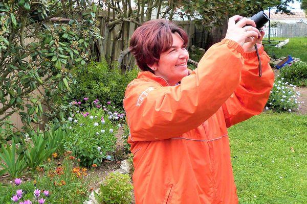 Stéphanie Peronne témoigne quotidiennement en photos du confinement sur l'île d'Aix.