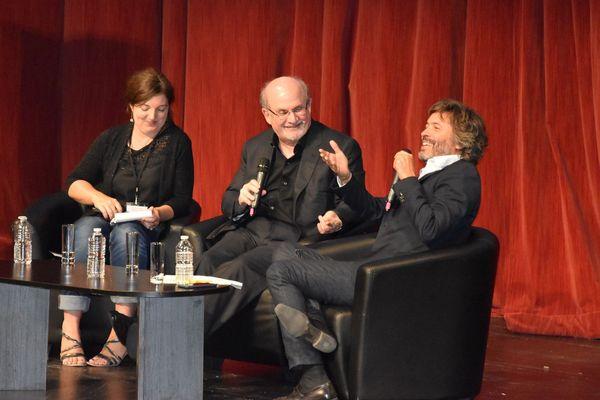 Salman Rushdie interrogé par Christophe Ono-dit-Biot