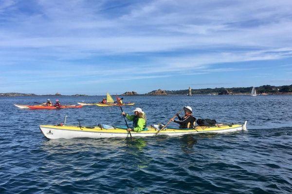 Découverte de Bréhat en Kayak de mer