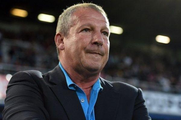 Rolland Courbis entraîneur de Montpellier