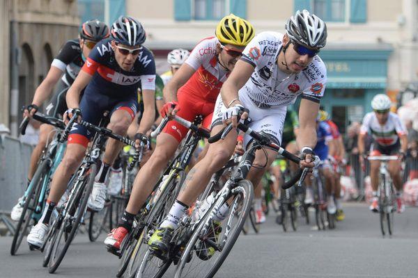 Route Adélie de Vitré. Benoit JARRIER (Bretagne Séché) troisième de l'épreuve en 2014