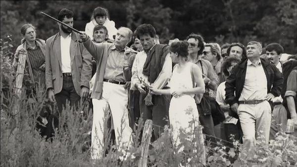 François Mitterrand et le rituel de l'ascension de la Roche de Solutré