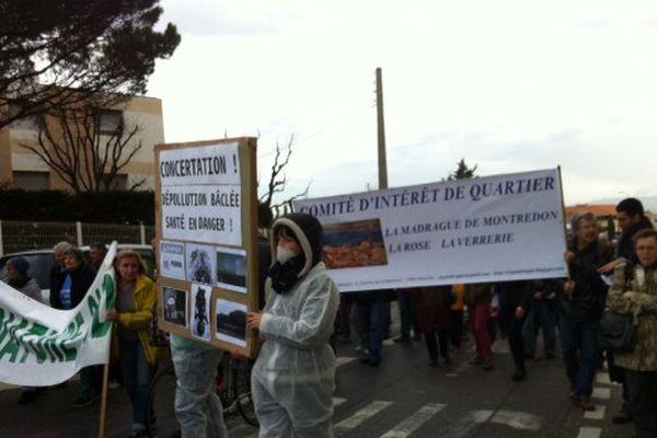 Les associations et le CIQ manifestent le samedi 4 février contre les risques de particules toxiques dans l'air, remuées par les travaux de l'ancien site Legré Mante.