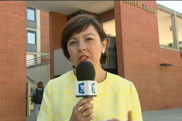 Carole Delga invitée du journal de France 3 Languedoc-Roussillon ce 29 septembre 2016