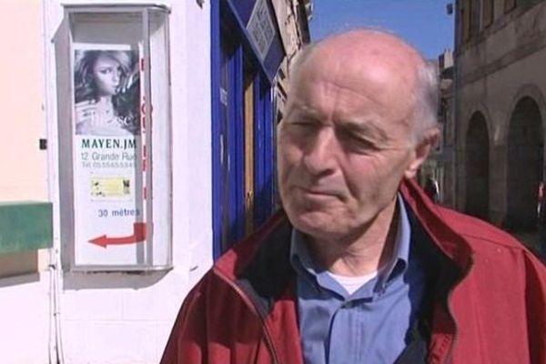 Bernard Campos, le maire d'Evaux-les-Bains