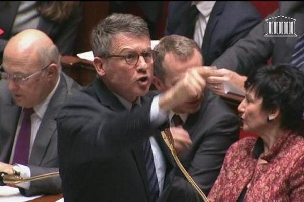 Le ministre de l'Education Nationale Vincent Peillon, à l'Assemblée Nationale