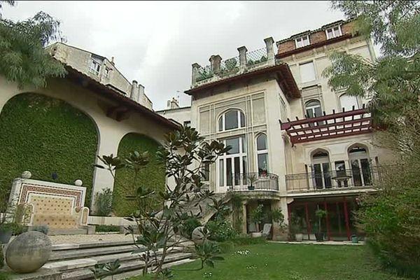 Le jardin de l'Hôtel Frugès