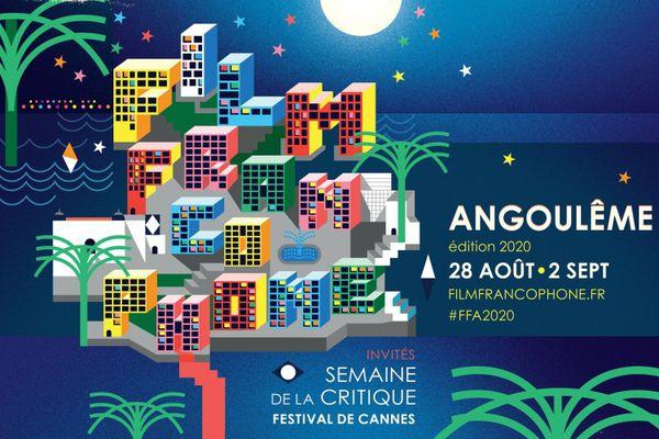 L'affiche du 13e FFA d'Angoulême.