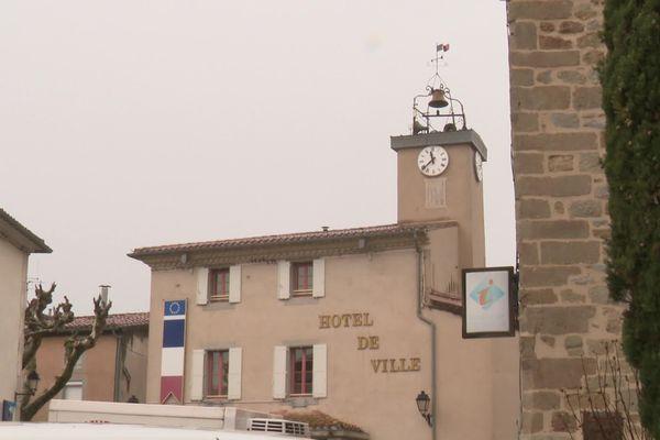 La mairie de Rieux-Minervois (Aude)
