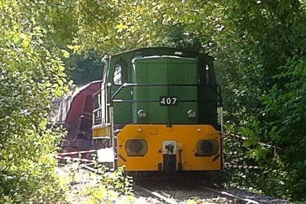 Un wagon de marchandises s'est couché sur la voie à l'entrée de Buzançais (18)