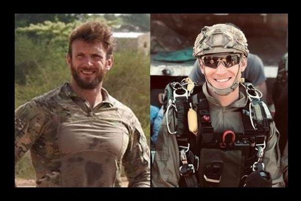 Les deux commandos marine, les MT Cédric de Pierrepont et Alain Bertoncello, mort dans l'opération de libération des otages enlevés au Bénin
