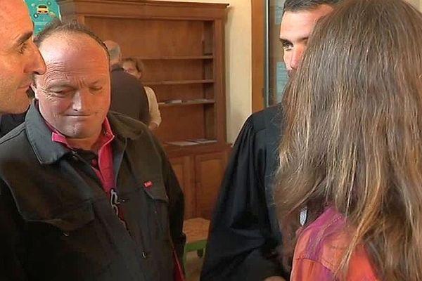 Mende - 6 mois de prison avec sursis requis contre HervéSapet, le président de la Coordination rurale de la Lozère - 4 septembre 2018.