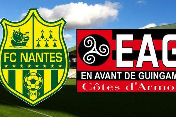 Le FC Nantes reçoit l'EA Guingamp pour le compte de la 37e journée de Ligue 1.