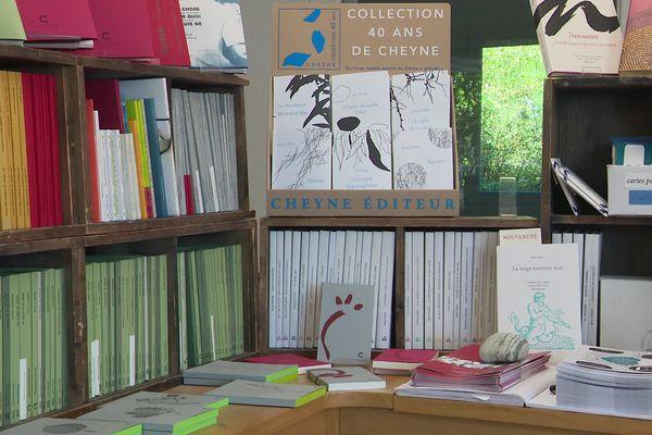 """La maison d'édition """"Cheyne"""" a été créée il y a quarante ans dans une ancienne école au Chambon-sur-Lignon"""