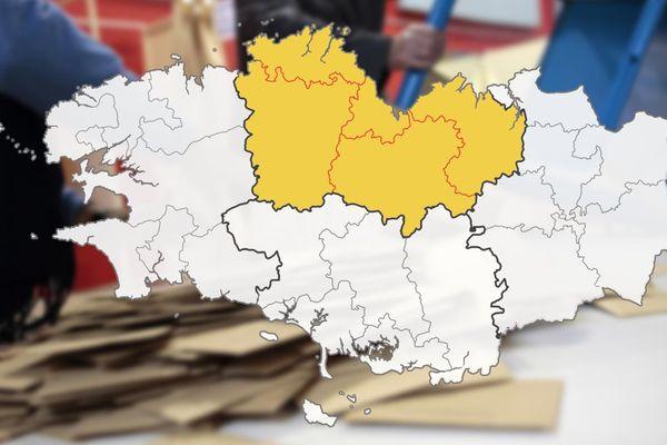 Retrouvez les candidats dans votre circonscription des Côtes-d'Armor.