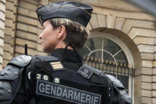 Une femme gendarme en juin 2019