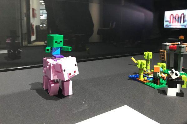 Des Lego Minecraft : la boucle est bouclée !