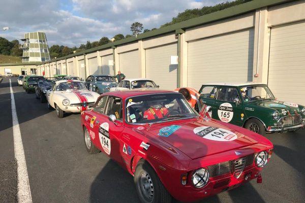 Mercredi 2 septembre, des passionnés pouvaient admirer de belles cylindrées sur le circuit de Charade, près de Clermont-Ferrand.