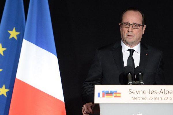 Le président de la république s'est exprimé dans l'après-midi