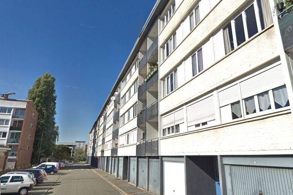 Le drame a eu lieu dans le quartier Résidence à Villeneuve d'Ascq