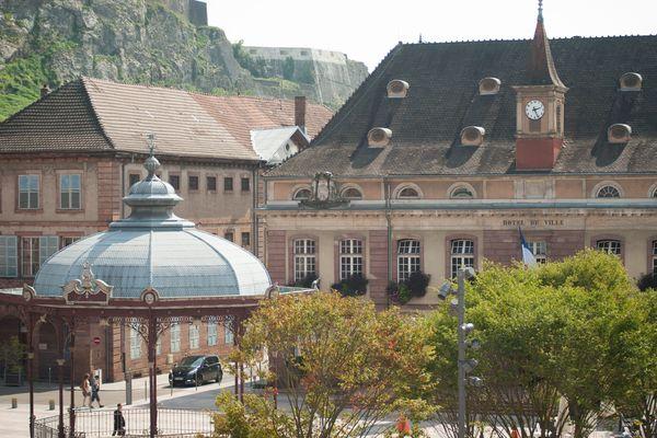 """En 2014 à Belfort, le deuxième tour des municipales avait donné lieu à  une """"quadrangulaire"""""""