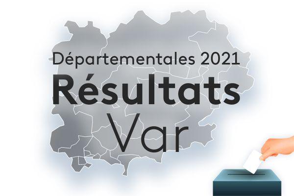 Les résultats du premier tour des élections départementales 2021 dans le Var