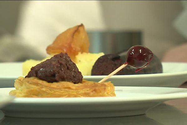 Le restaurant de la foire de Mortagne-au-Perche propose 4 préparations élaborées à base de boudin.