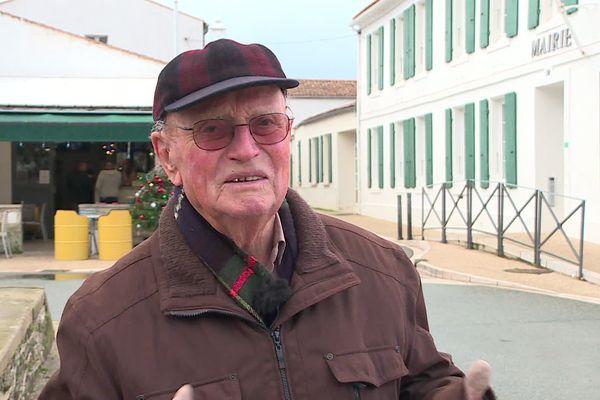 Roger Bitonneau, ancien maire de Saint-Denis d'Oléron