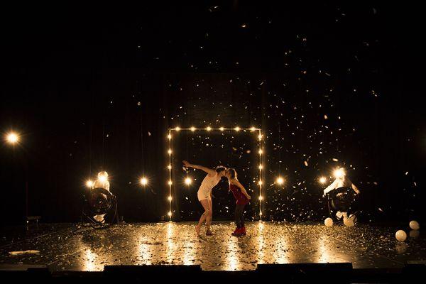Arlequin poli par l'amour, mise en scène de Thomas Jolly pour une soirée unique au Liberté, scène nationale de Toulon le 31/12/2018
