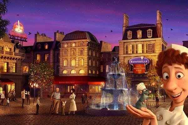 Disneyland Paris a dévoilé le tout premier visuel du monde dédié au film Ratatouille qui ouvrira ses portes au sein du Parc Walt Disney Studios cet été.
