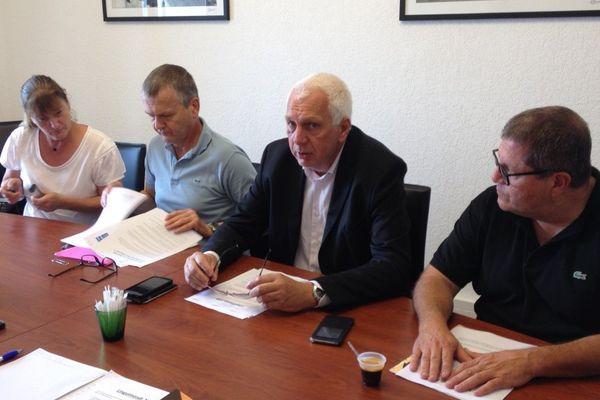 17/09/16 - Saveriu Luciani, Conseiller exécutif délégué à la langue corse lors de la présentation des journées Linguimondi