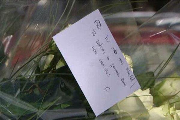 L'émotion demeure dans le quartier de la Croix-de-Bourgogne où la victime a été abattue samedi 30 avril 2016.