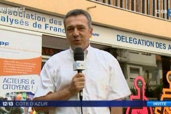 Denis Tassini, directeur de l'APF 06
