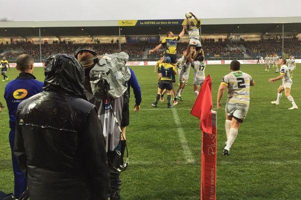 Nevers affrontait Carcassonne, en Pro D2, dimanche 2 décembre.