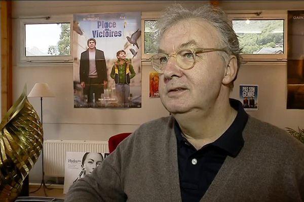 Dominique Besnehard, directeur du festival du film francophone de Brides-les-Bains, en Savoie