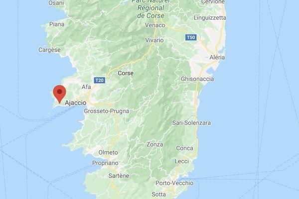 Le drame a eu lieu sur la route des Sanguinaires, à Ajaccio.