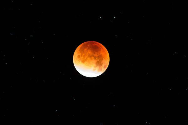 La super lune de sang.