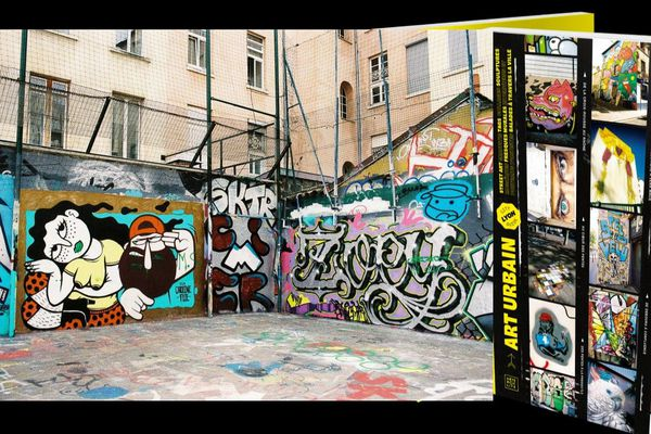 Lyon city guide Art urbain