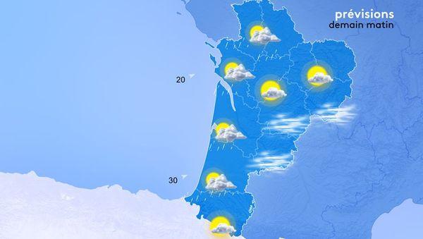 De minimumtemperaturen zijn erg koud, maar in het seizoen ligt het tussen de 5 en 12 graden.  De zuidenwind draait in de loop van de ochtend naar het westen.