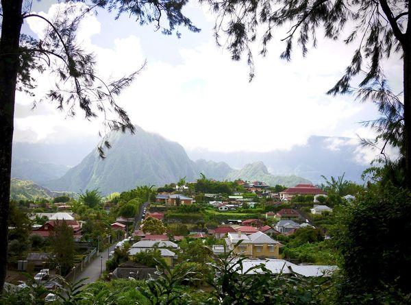 Le village de Salazie à la Réunion