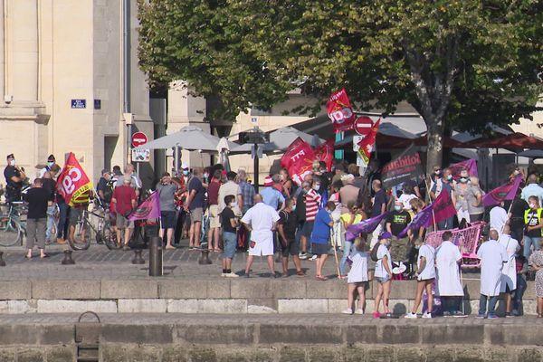 Faible mobilisation sur le port de La Rochelle