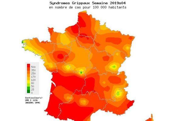 En France, l'Occitanie et la Grande Aquitaine sont fortement touchées