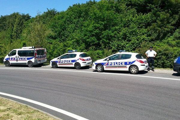 Les policiers de la CRS 39 autoroutière procèderont à de nombreux contrôles tout au long de ce week-end prolongé.