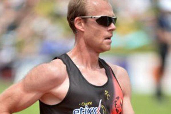 Kevin Campion que l'on voit ici lors de l'épreuve des 5000 mètres à Rio, le 26 juin 2016.