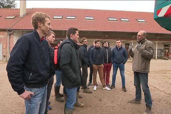 Des élèves du lycée agricole le Paraclet dans la Somme