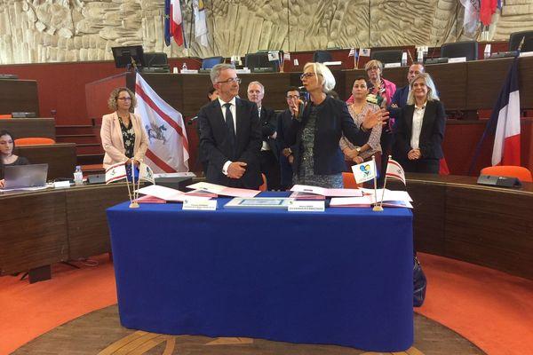 Signature du protocole de coopération avec la Toscane.