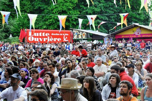 La fête de Lutte Ouvrière se déroule chaque année à Presles (Val-d'Oise) depuis 1971.