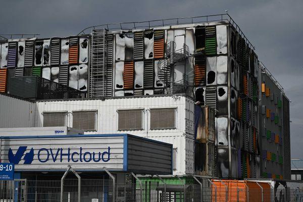 Le Data Center d'OVH à Strasbourg (Alsace) a été détruit par les flammes dans la nuit du 9 mars 2021.